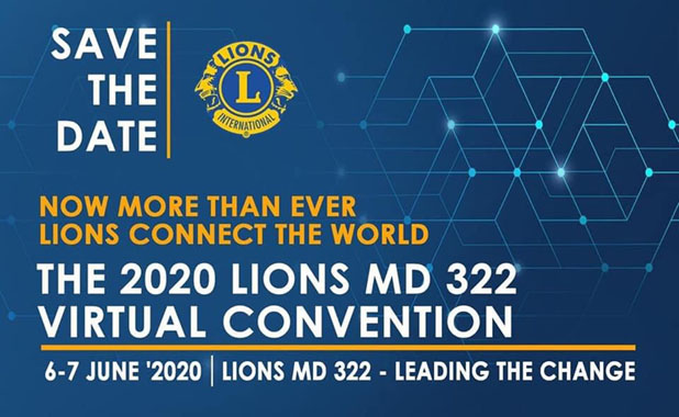 2020 Lions MD 322 Virtual Convention